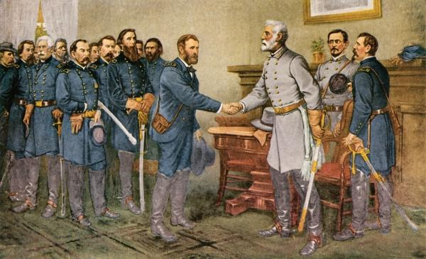 Appomattox--where the USA reunited
